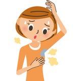 Женщина бортового пота бесплатная иллюстрация