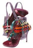 женщина ботинка группы Стоковое фото RF