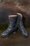 женщина ботинка старая Стоковые Фото