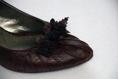 женщина ботинка Стоковая Фотография