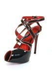 женщина ботинка Стоковое Фото