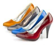 женщина ботинка Стоковые Изображения RF