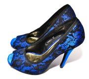 женщина ботинок пяток высокая Стоковое Фото