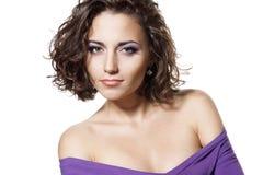 женщина брюнет сексуальная Стоковое Фото