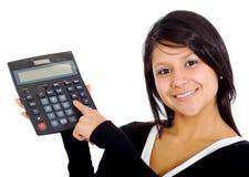 женщина бухгалтера Стоковые Изображения