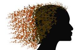 Женщина вала Стоковая Фотография RF
