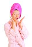 женщина ванны стоковая фотография