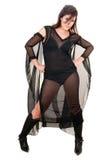 женщина ведьмы halloween сексуальная Стоковые Изображения RF