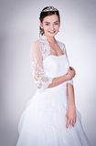 женщина венчания платья стоковая фотография