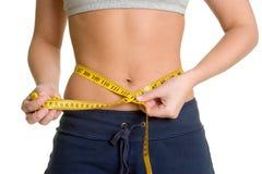 женщина веса потери Стоковая Фотография RF