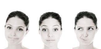 женщина взволнованности Стоковая Фотография RF