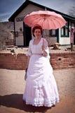 женщина викторианец steampunk стоковые изображения