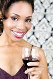 женщина вина Стоковое Изображение RF
