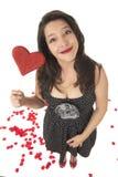 женщина влюбленности Стоковые Фотографии RF