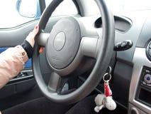 женщина водителя Стоковая Фотография RF