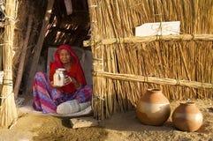 женщина воды надувательства Стоковые Фотографии RF