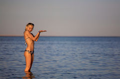 женщина воды Стоковая Фотография