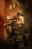 женщина воина Стоковое Фото