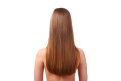 женщина волос длинняя Стоковые Фото