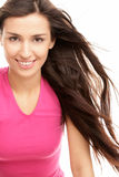 женщина волос летания Стоковое Изображение RF