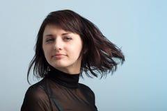 женщина волос летания Стоковая Фотография RF