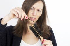 женщина волос освобождая Стоковые Фотографии RF