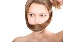 женщина волос Стоковое фото RF
