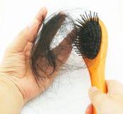 женщина волос освобождая Стоковое Изображение RF