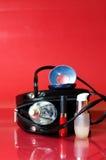 женщина вспомогательного оборудования различная Стоковое фото RF