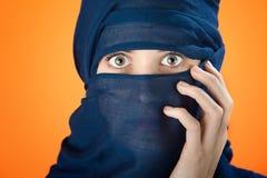 женщина вуали стоковые фото