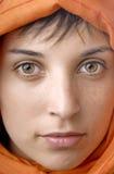 Женщина вуали Стоковое Фото