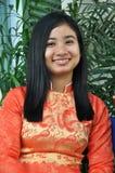женщина Вьетнама поставщика ресторана minh ho города хиа Стоковое Изображение RF
