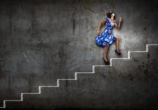Женщина в безпассудстве Стоковое Фото