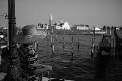 Женщина в Венеции Стоковое Фото