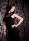 Женщина в одеждах способа стоковое изображение