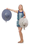 Женщина в одежде способа Стоковое фото RF
