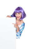 Женщина в смешном costume Стоковые Фото