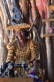 Женщина Гереро, Намибия Стоковые Фотографии RF