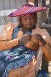 Женщина Гереро Стоковые Изображения RF