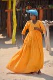 Женщина Гереро Стоковые Изображения