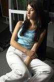 женщина гимнастики Стоковые Фотографии RF