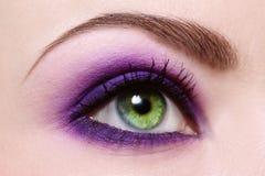 женщина глаза s Стоковое фото RF