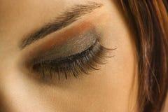 женщина глаза s Стоковая Фотография RF
