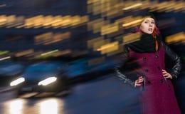 Женщина города стоковые фото