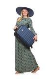 Женщина готовая на летний отпуск Стоковые Изображения