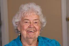 женщина гражданина счастливая старшая Стоковое фото RF