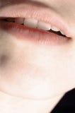 женщина губ Стоковая Фотография RF
