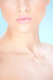 женщина губ s Стоковое Изображение
