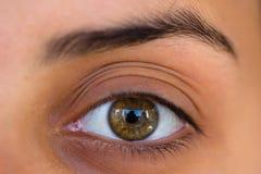 женщина глаза s Стоковое Изображение RF