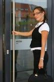 Женщина дела в городе Стоковые Фотографии RF